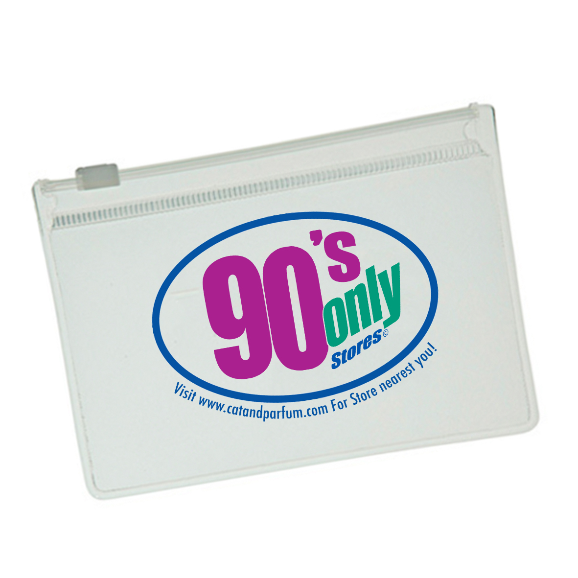 90's Only Store Clear EVA Case