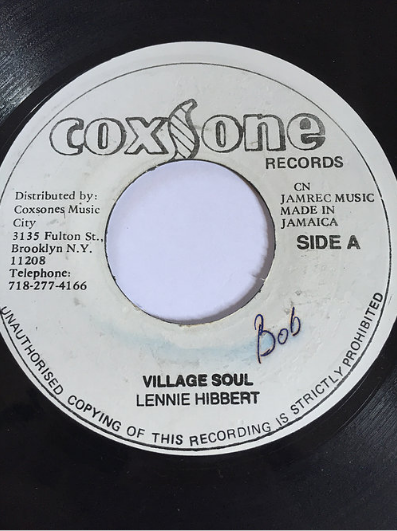Lennie Hibbert(レニーヒバート) - Village Soul【7'】