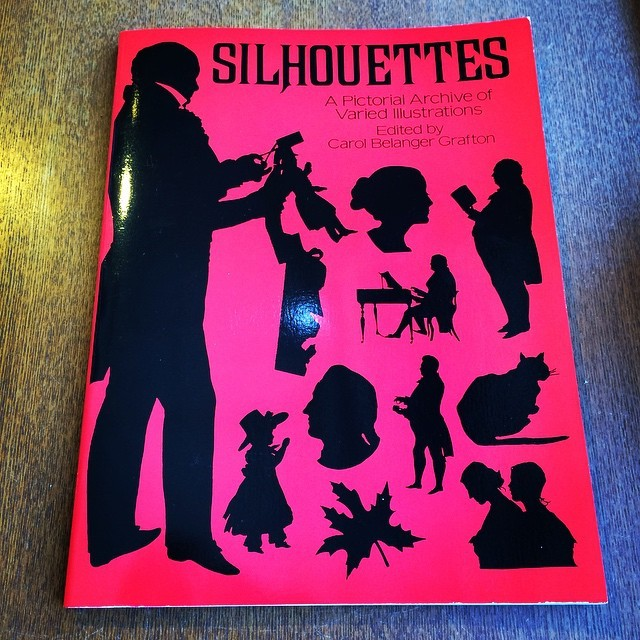デザインの本「Silhouettes: A Pictorial Archive of Varied Illustrations」 - 画像1