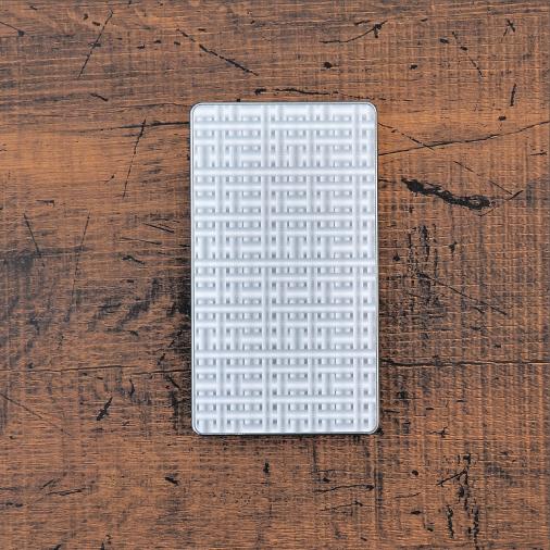 クロススクエア《シルバー》ジュラルミン アルミ 金属 名刺入れ カードケース ギフト