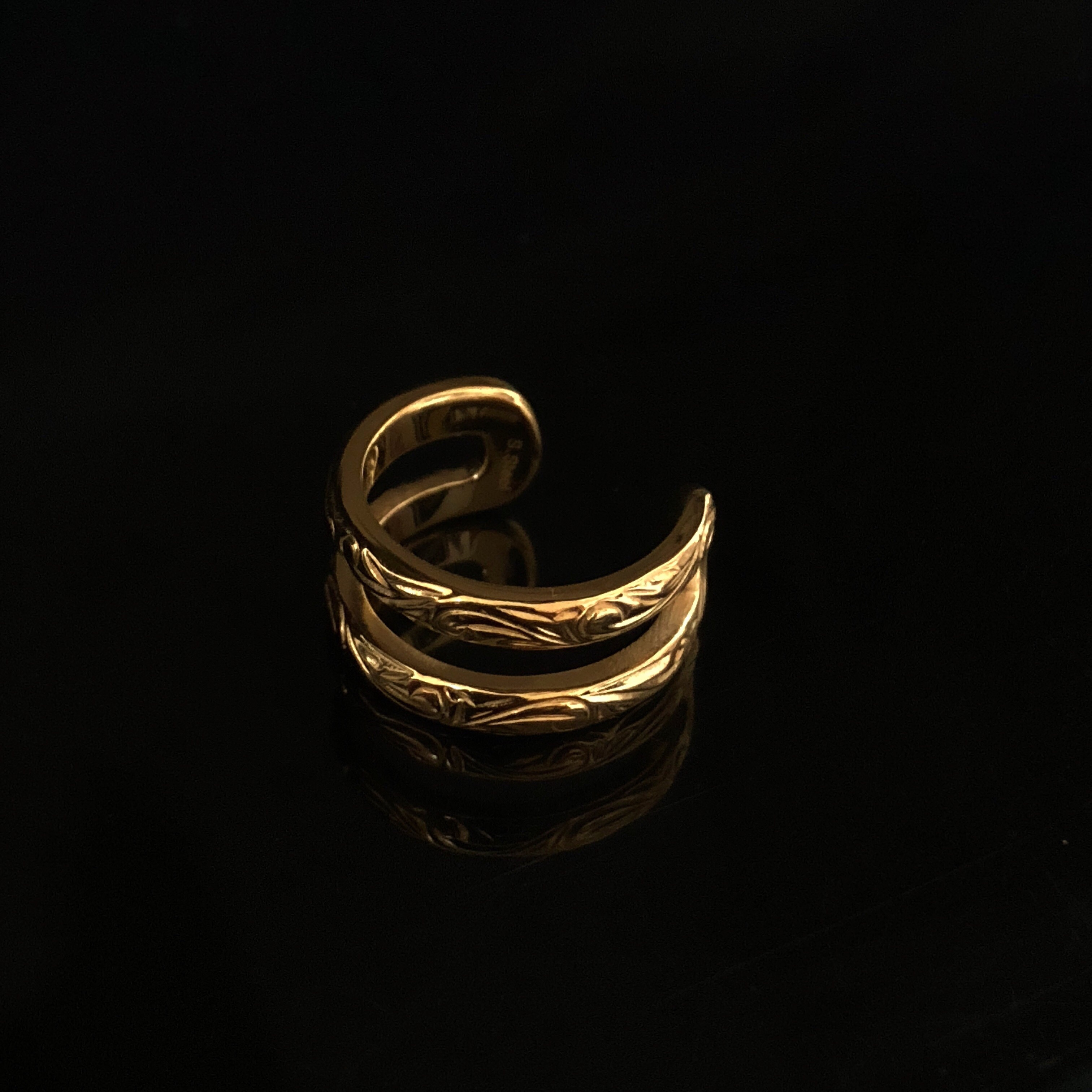 24kgp Hawaiian jewelry ring(double)