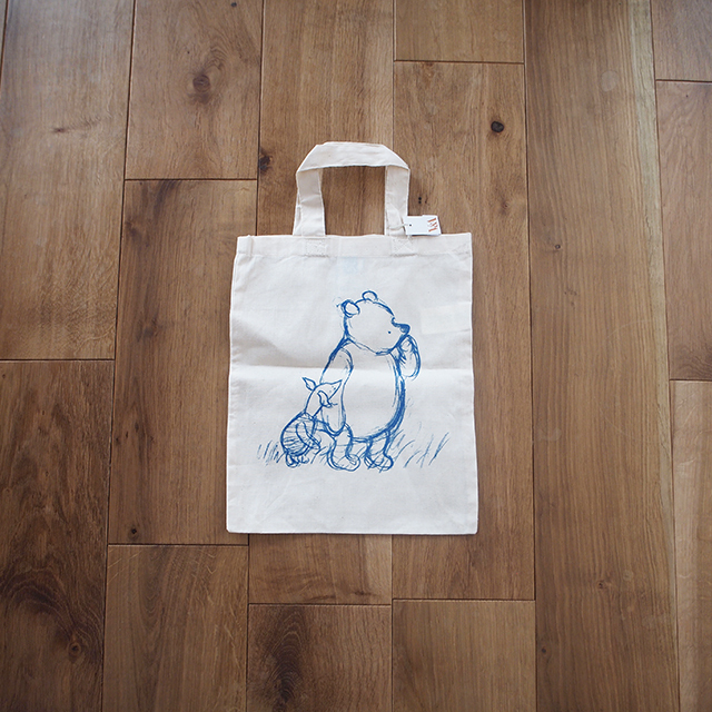 【イギリス】 V & A クマのプーさん エコバッグ 小 Sサイズ ヴィクトリア&アルバート ミュージアム