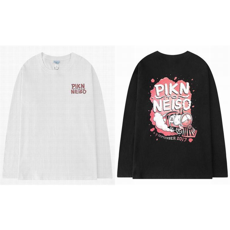 ユニセックス 長袖 Tシャツ メンズ レディース バックプリント オーバーサイズ 大きいサイズ ストリート