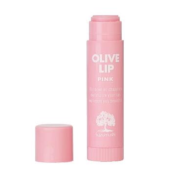 鈴虫オリーブ化粧品 鈴虫オリーブリップクリーム(ピンク)