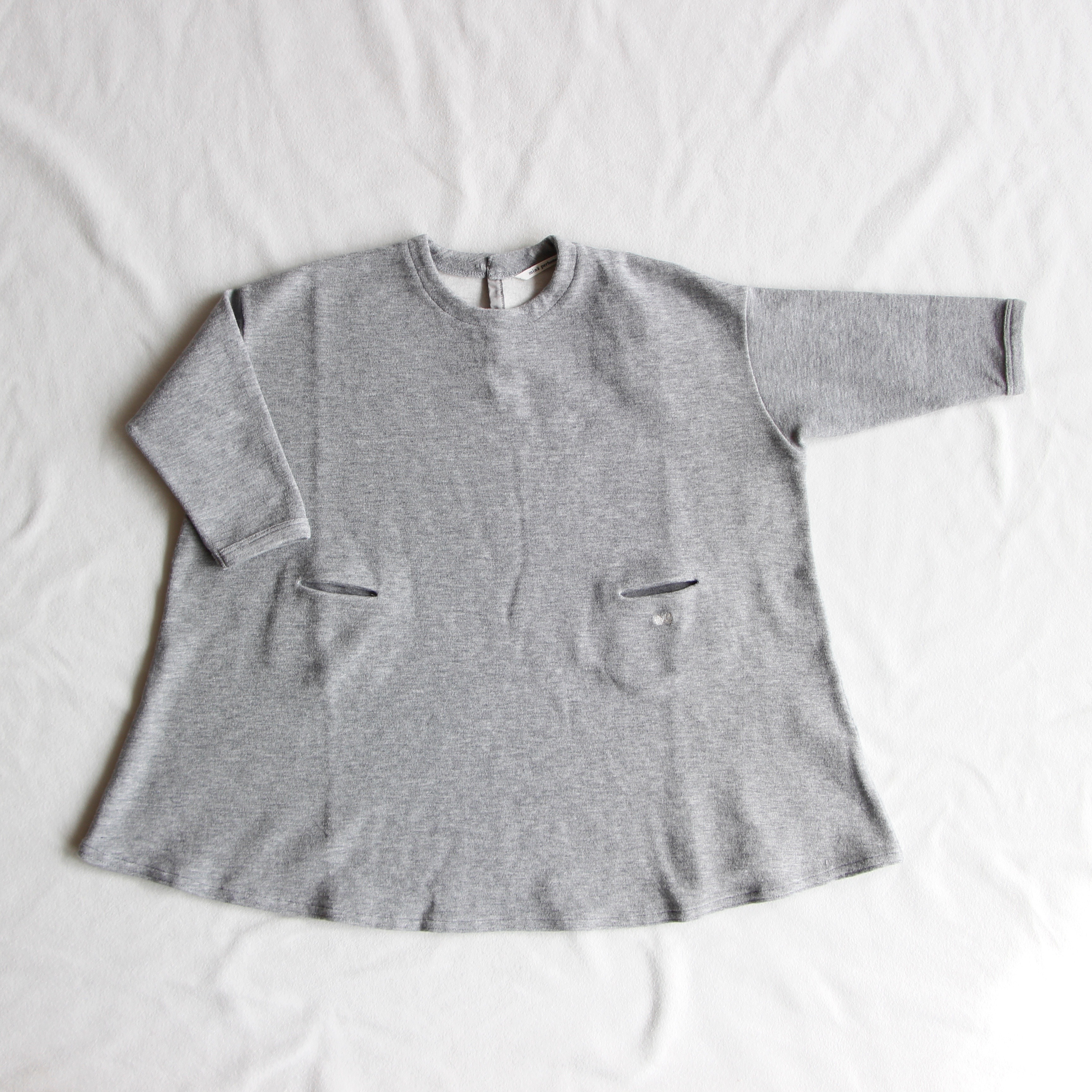 《mina perhonen 2017AW》lanugo ワンピース / gray / 110-130cm