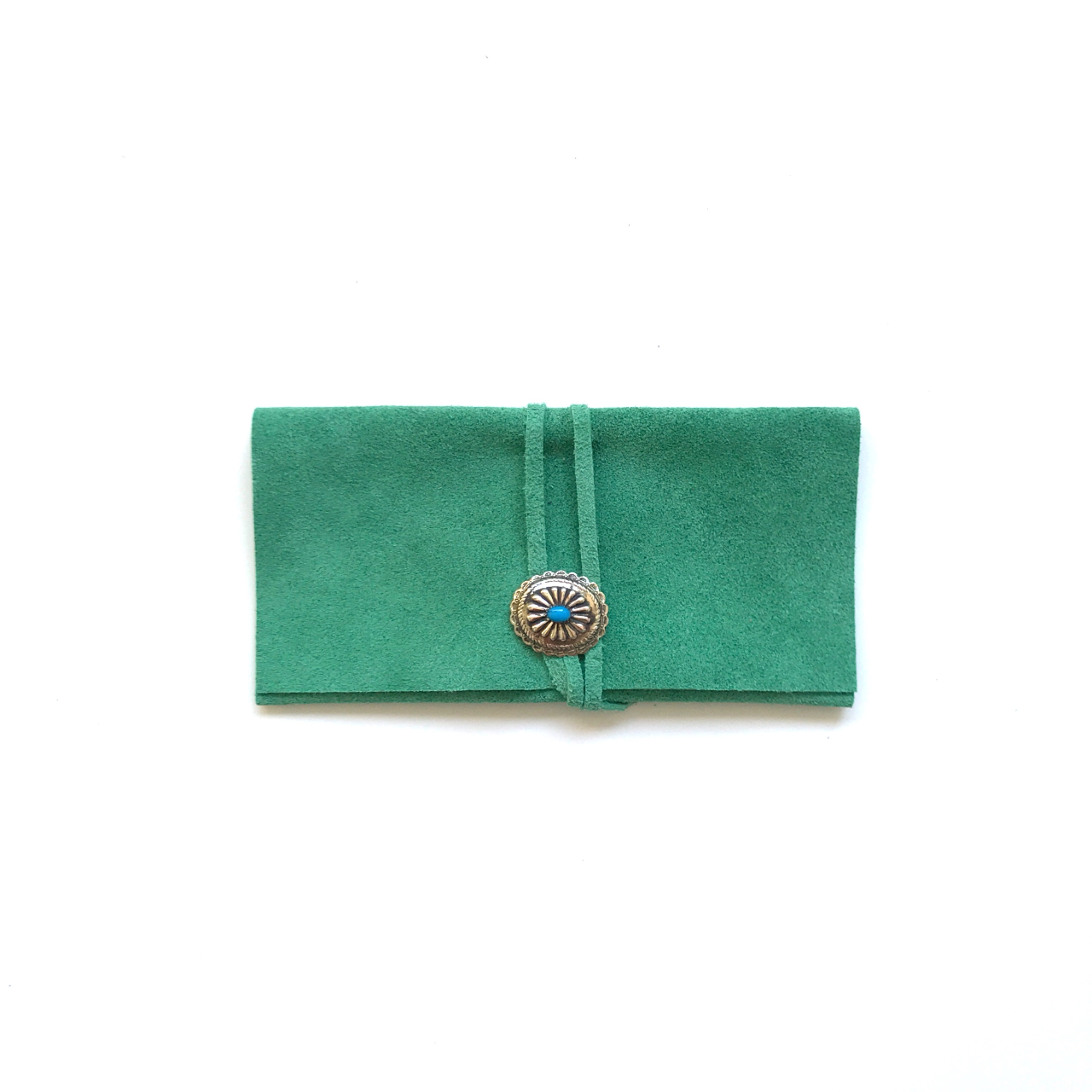 Sunglasses case -green-