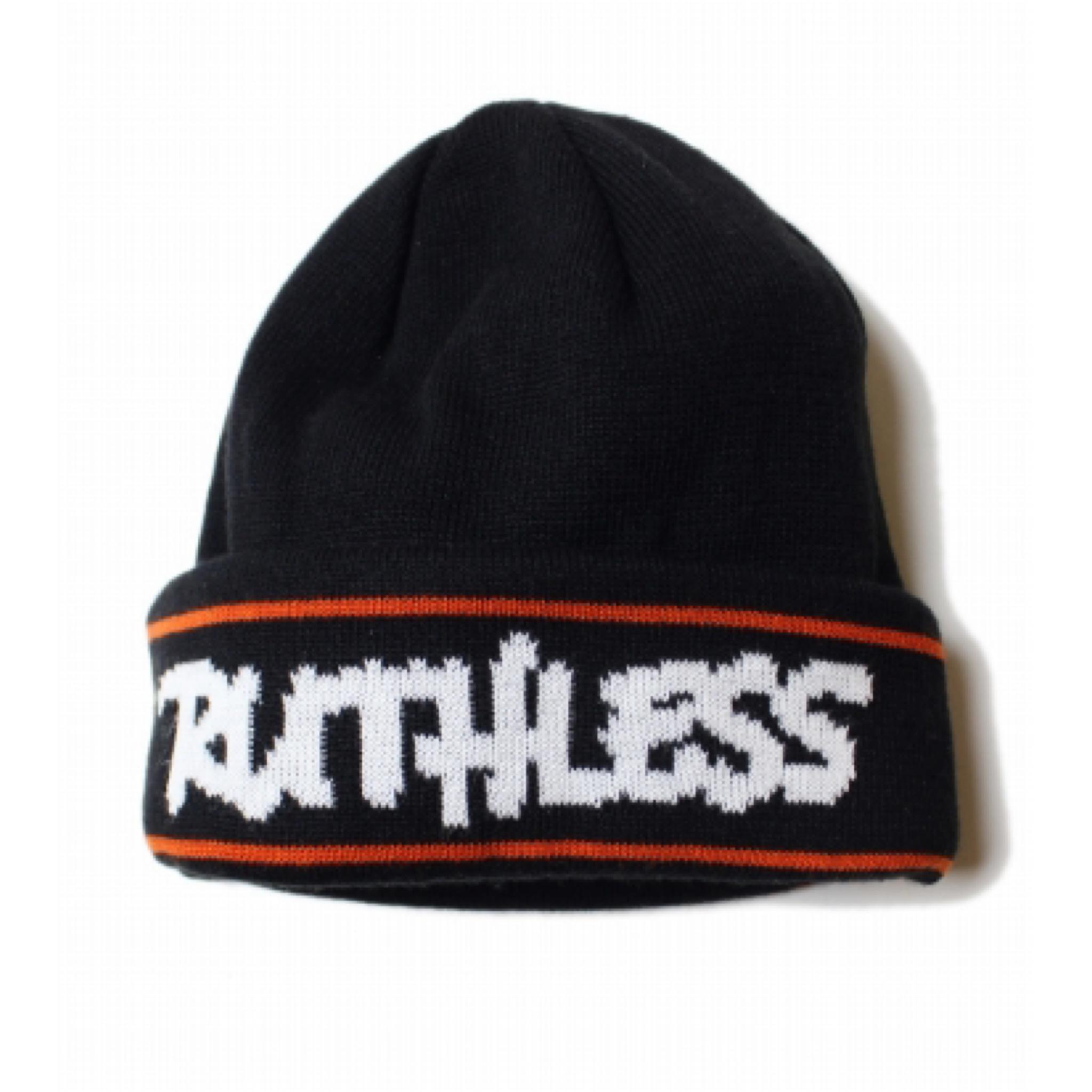 RUTHLESS #HD Knit Cap Black