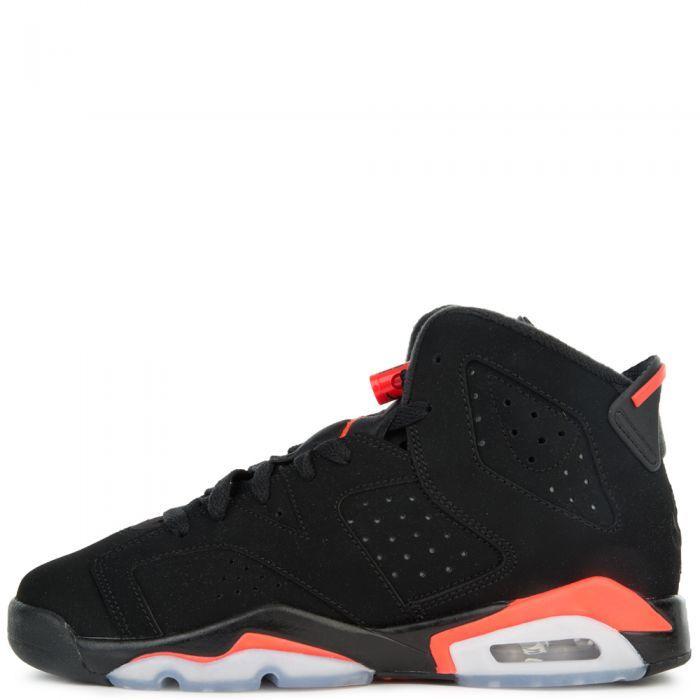 Nike Air Jordan 6 Retro OG GS BLACK INFRARED