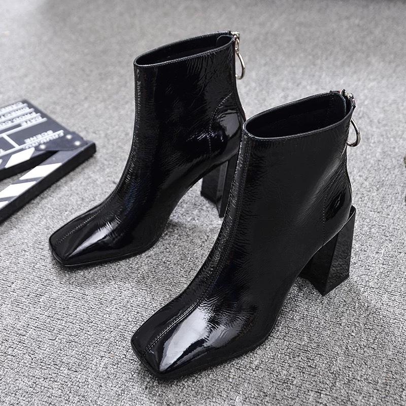 【ラスト1点】back red line boots