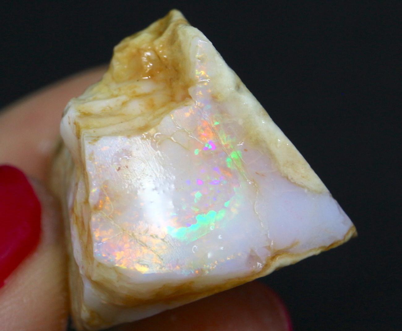 スペンサーオパール アイダホ産 9,9g SCO031 原石 鉱物 天然石 パワーストーン