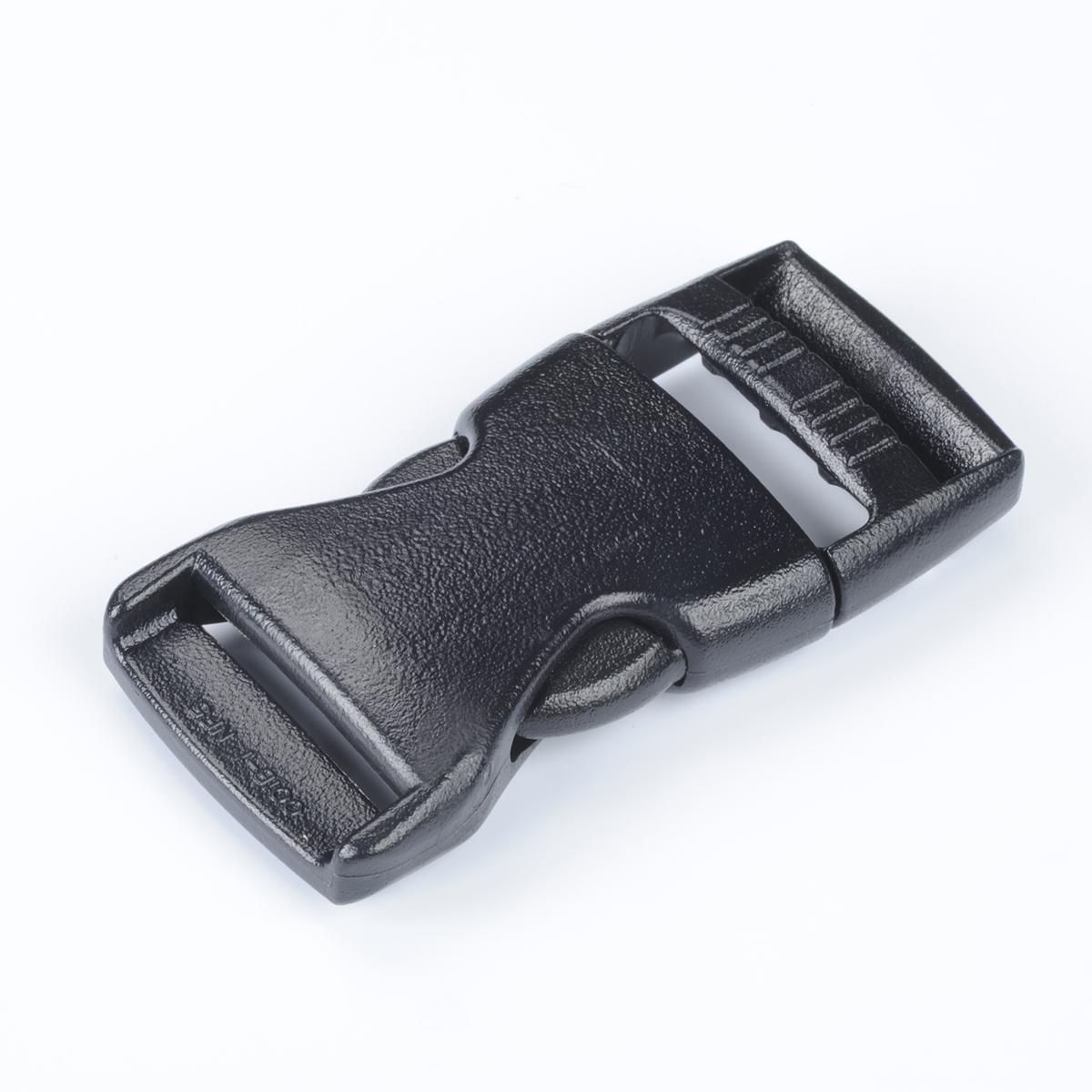 nifco プラスチックバックル 両引きタイプ TDSR-50H 50mm幅用 黒 1個