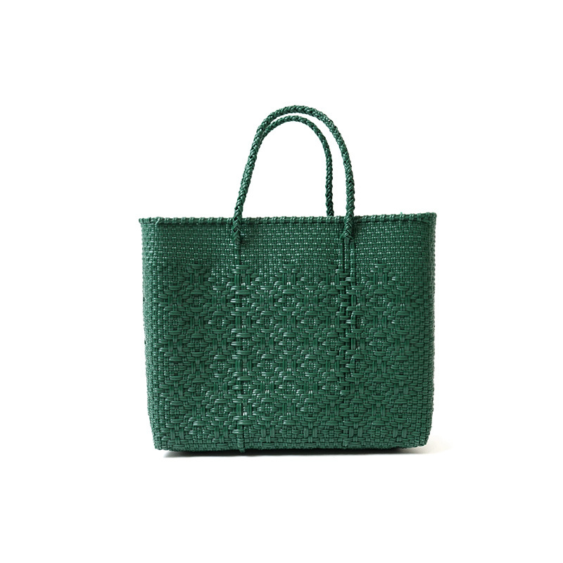 MERCADO BAG ROMBO-Green(XS)