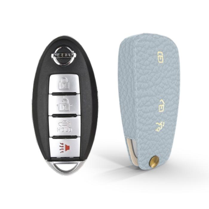 Nissan 専用 TypeA-3 Car Key Case Shrink Leather Case