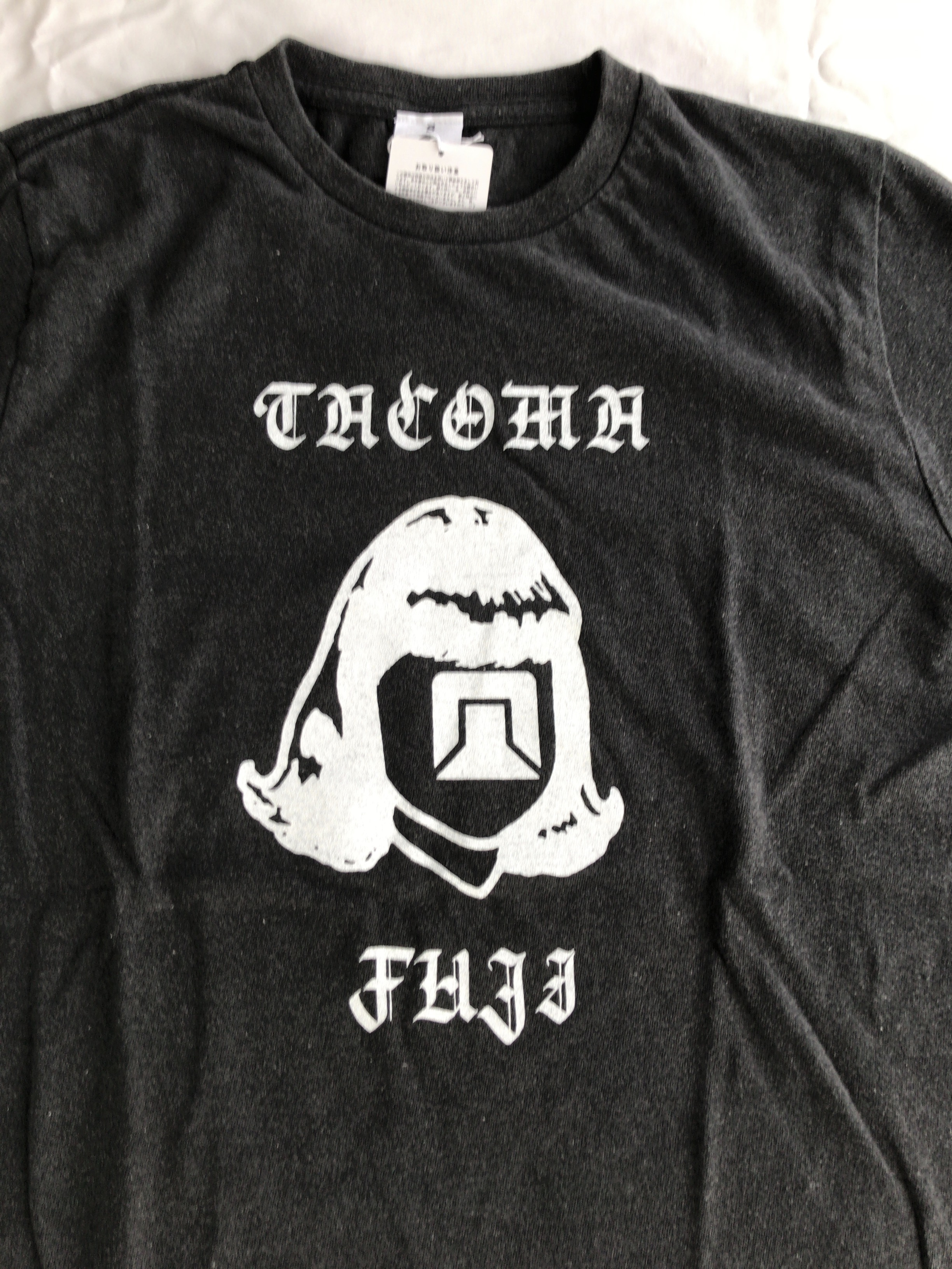 TACOMA FUJI HAND LETTERING LOGO  designed by Letterboy
