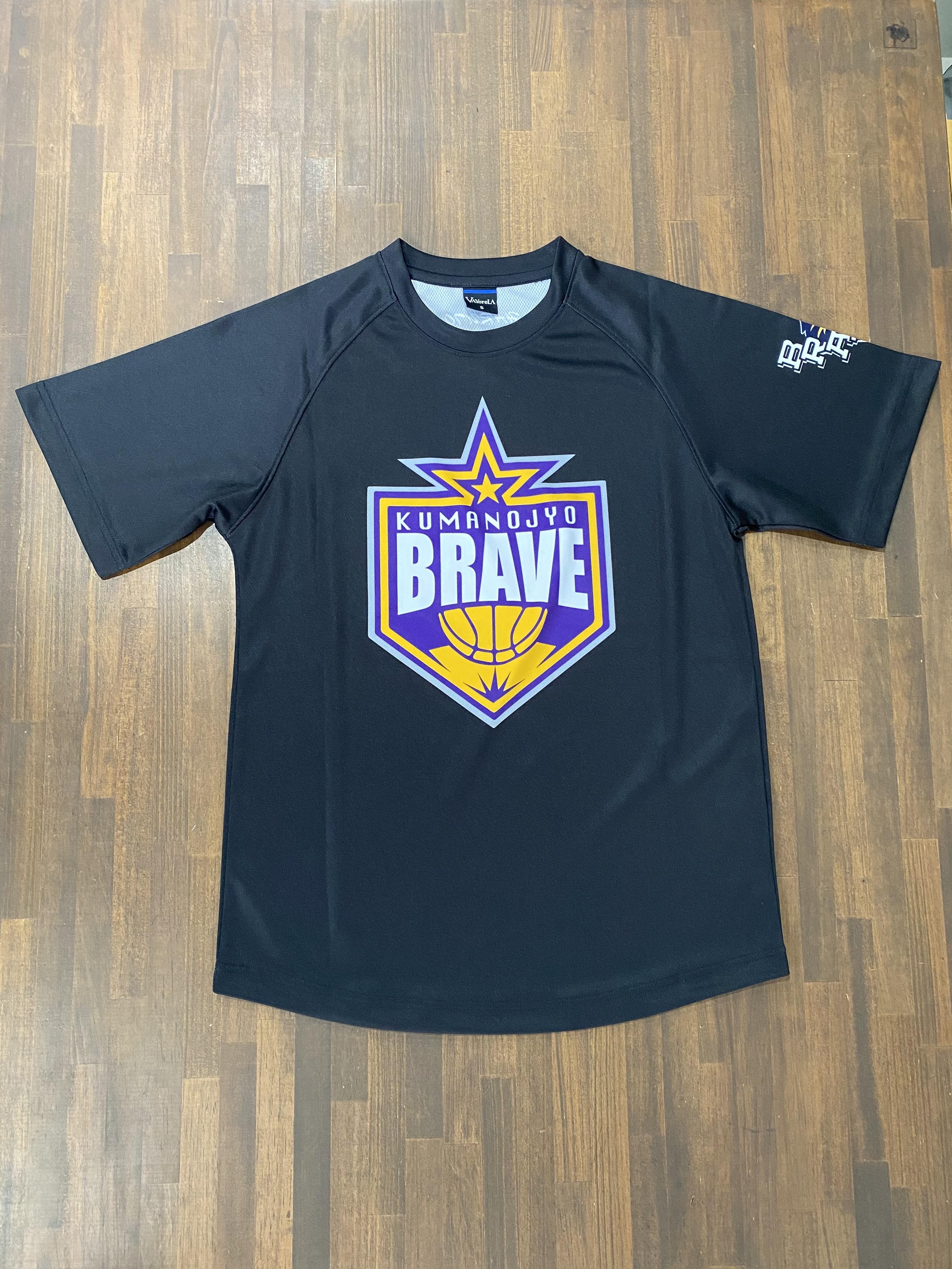 【デザインサンプル】隈之城BRAVE BOYS  (U12・男子)  昇華Tシャツ