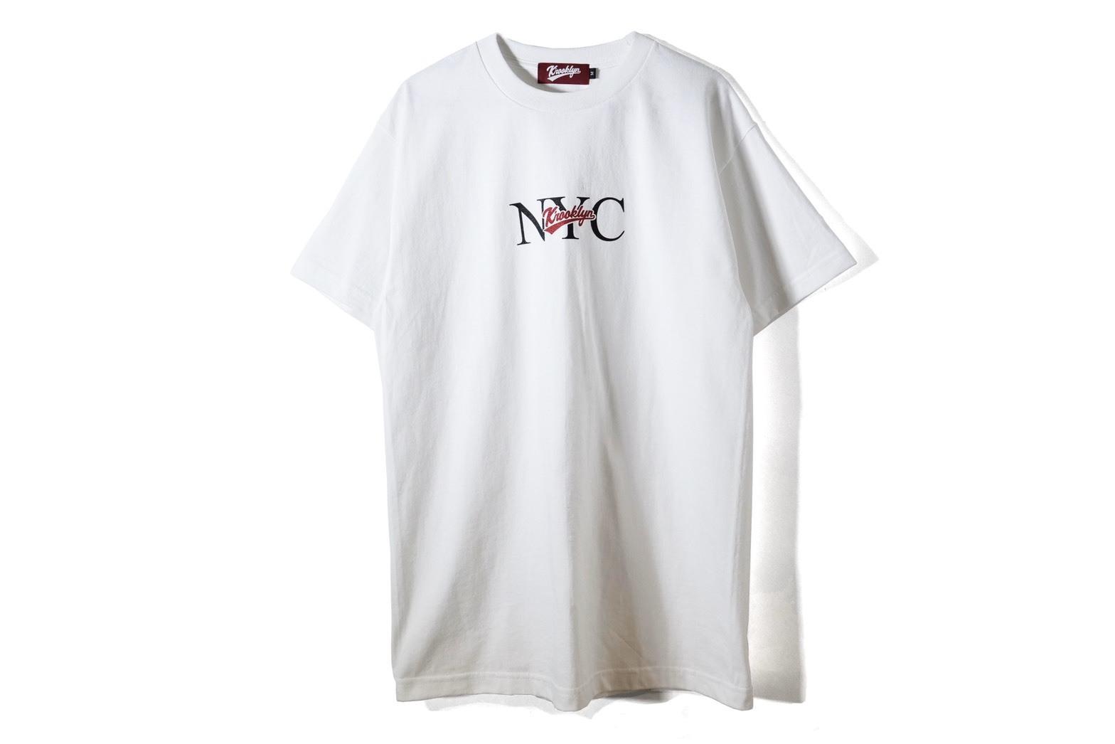 NYC LOGO T-SHIRT - White