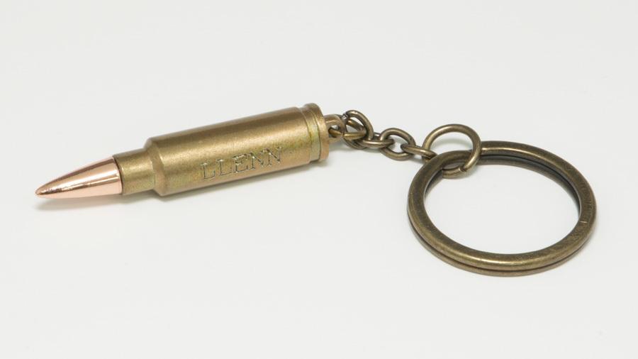 SAO オルタナティブ ガンゲイル・オンライン GGO LLENN 5.7x28mm 弾メタルキーホルダー /  グルーヴガレージ