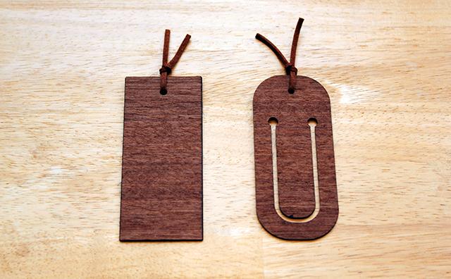 bookmark / 木と布のしおり(リバティ・ファブリックス使用) のイメージ画像