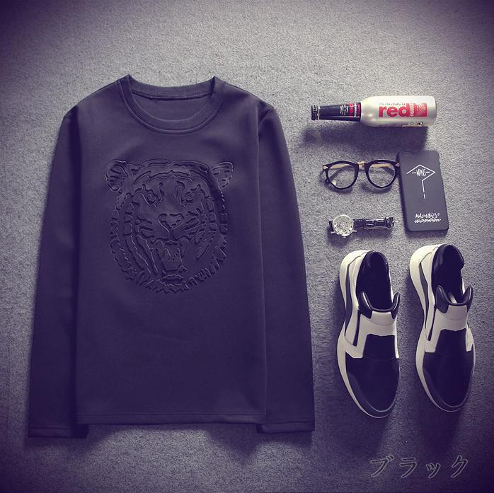 トレーナー/Tシャツ/ロンT/ストライプ/シャツ/メンズ/レディース/ユニセックス/デザインTシャツ/春/秋