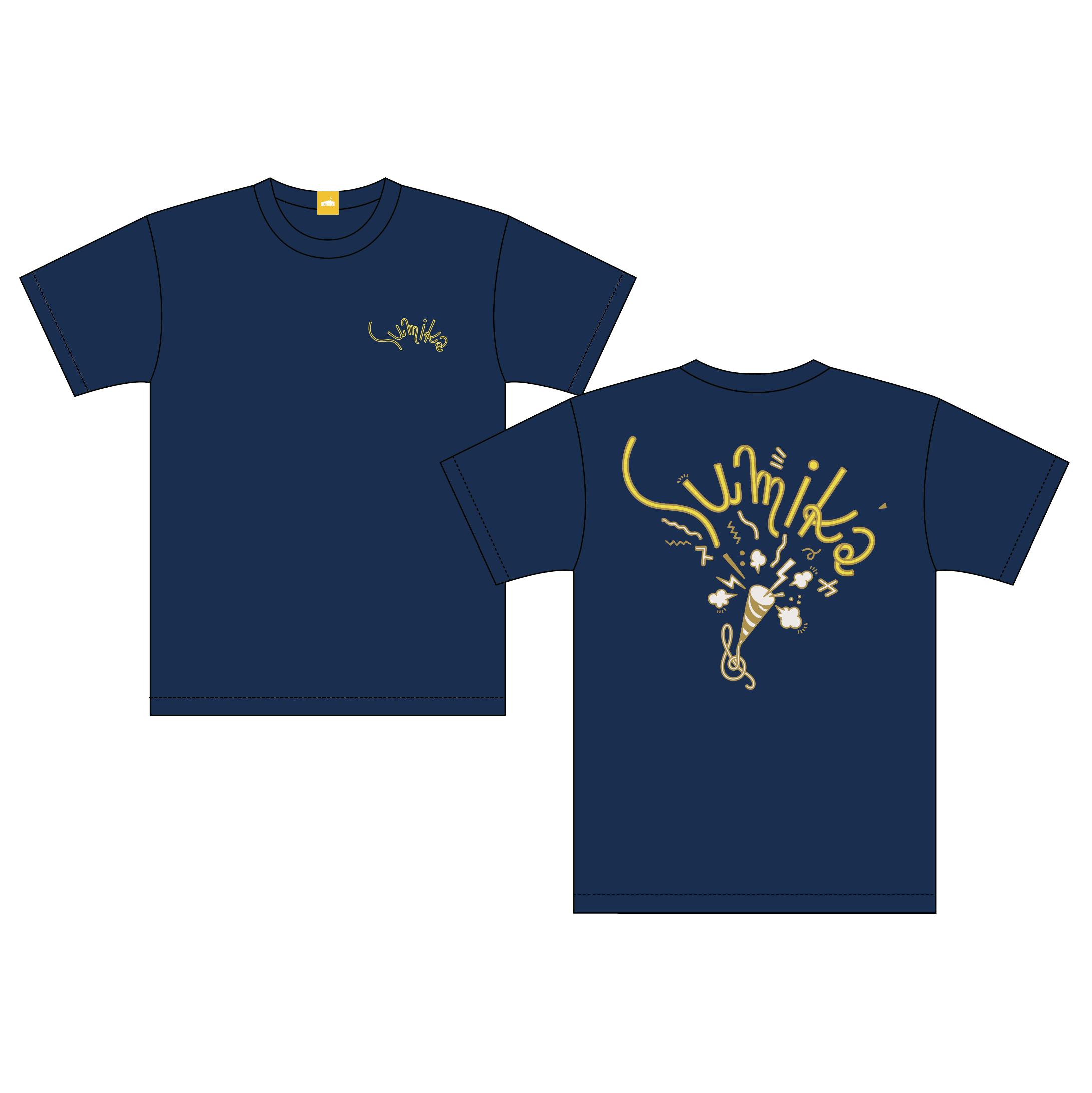 sumika / バックプリントTシャツ(スレート)