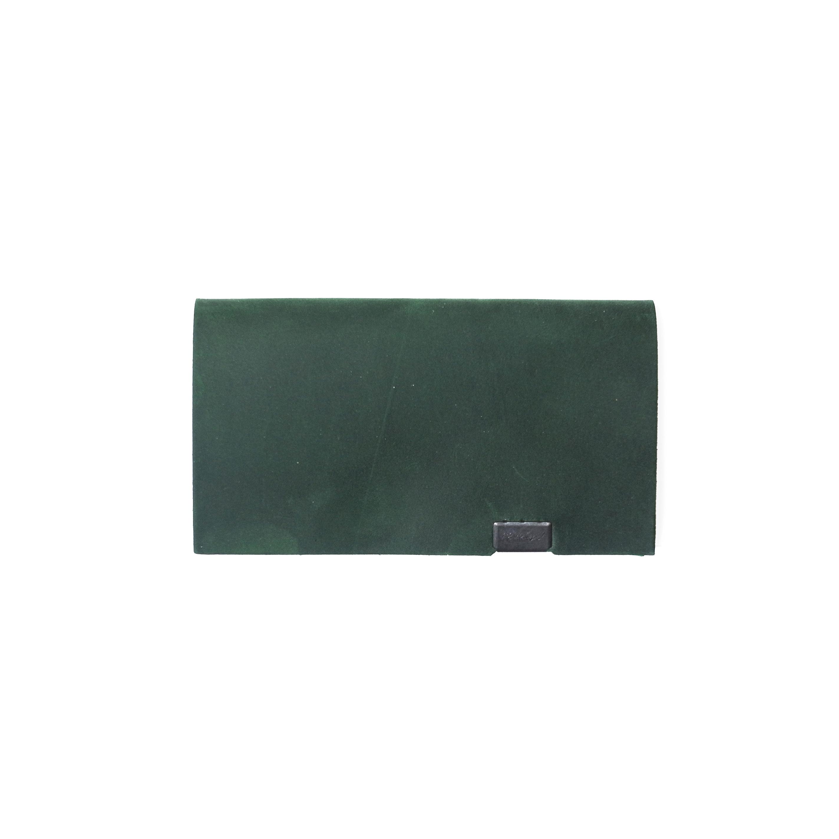 オイルヌバック -カードケース- グリーン