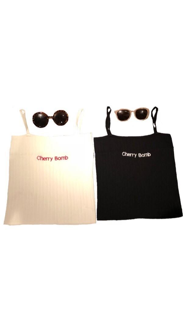 cherry bomb cami