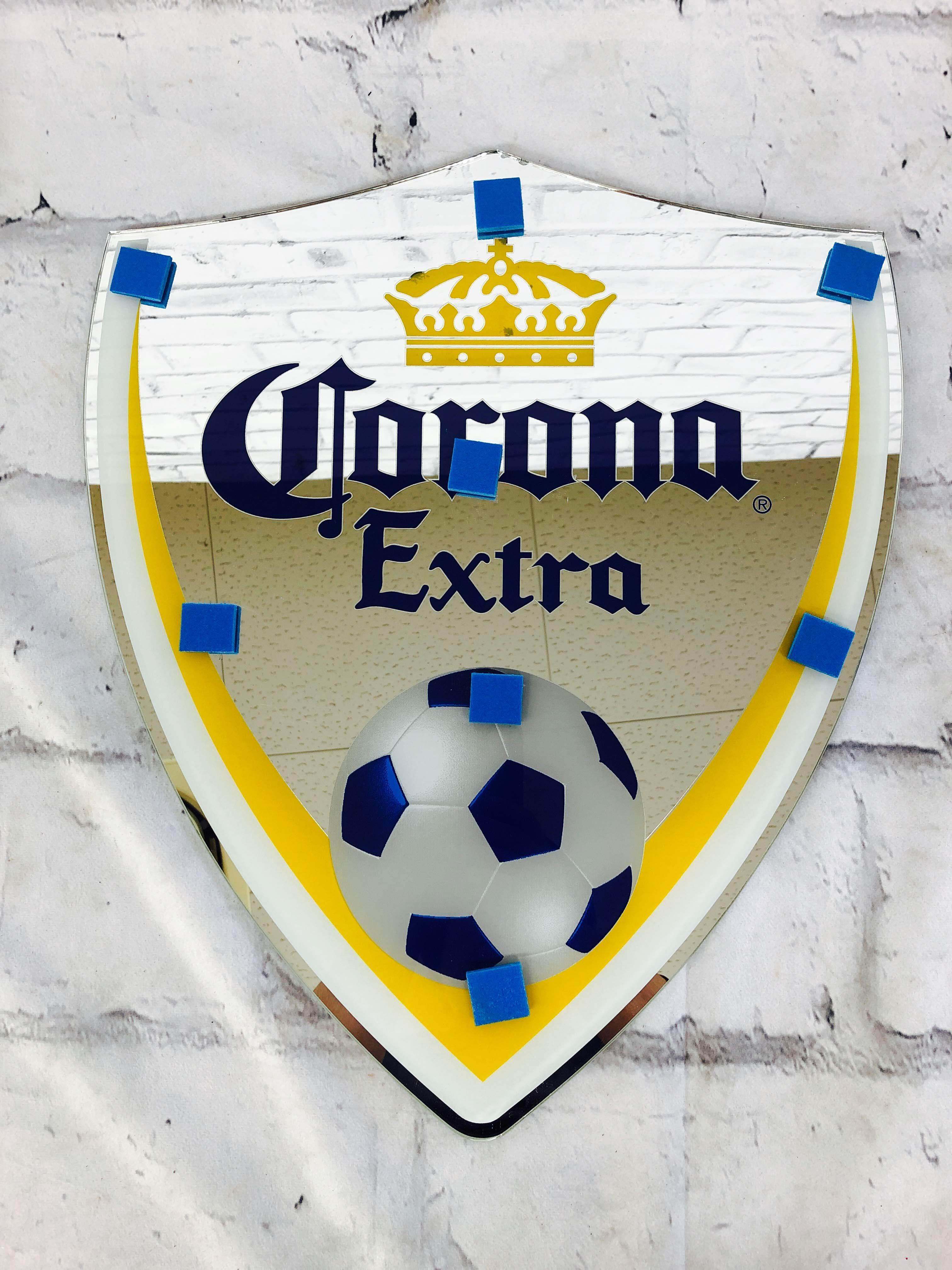 品番0279 パブミラー 『Corona Extra(コロナ エキストラ)』 壁掛 アート ディスプレイ アメリカン雑貨