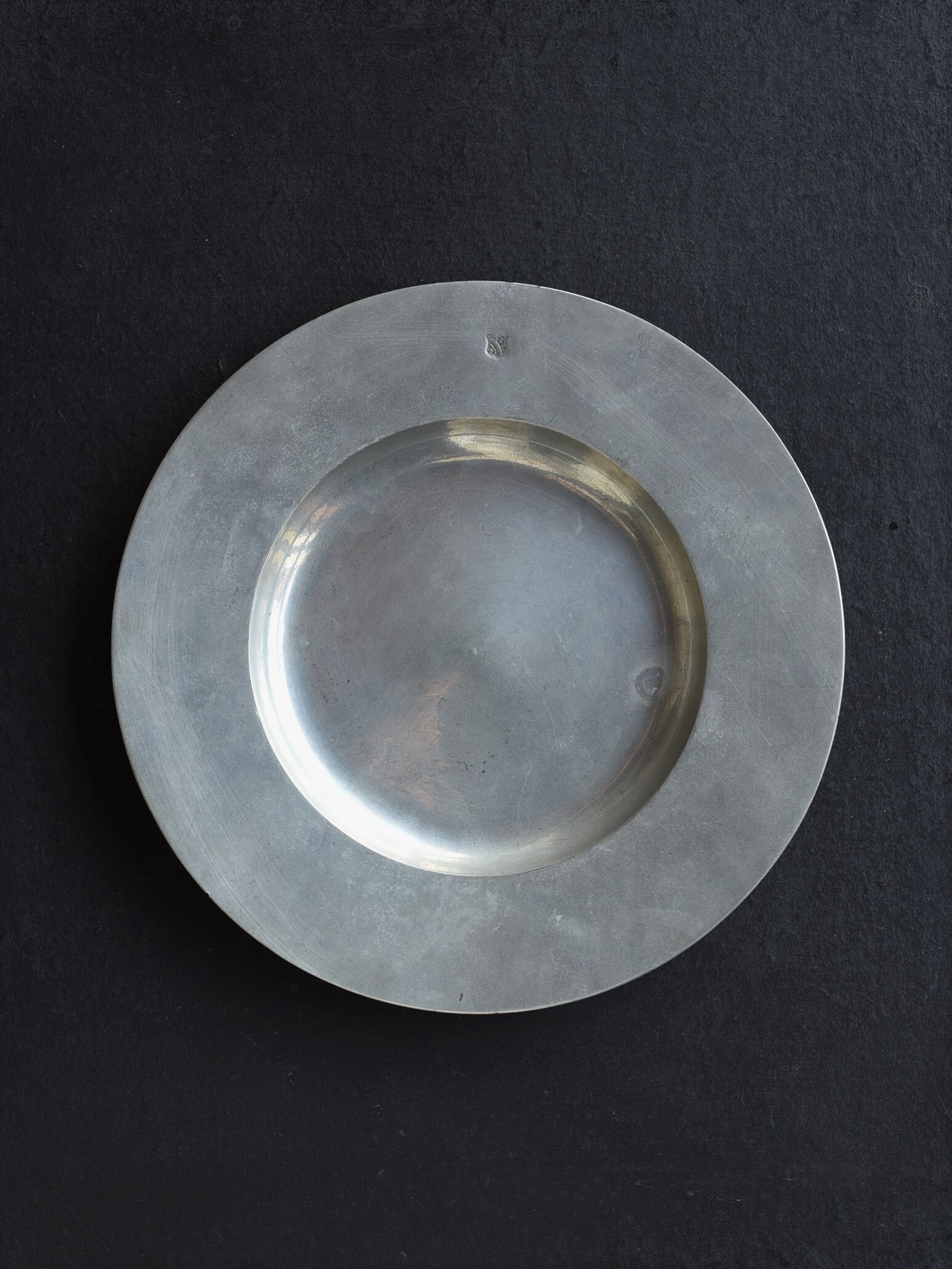 antique | ピューター皿-pewter plate