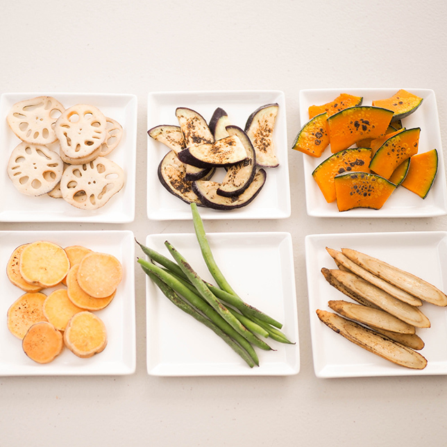 石窯ピザセット「燻製塩サバ」・「塩麹の根菜ピザ」