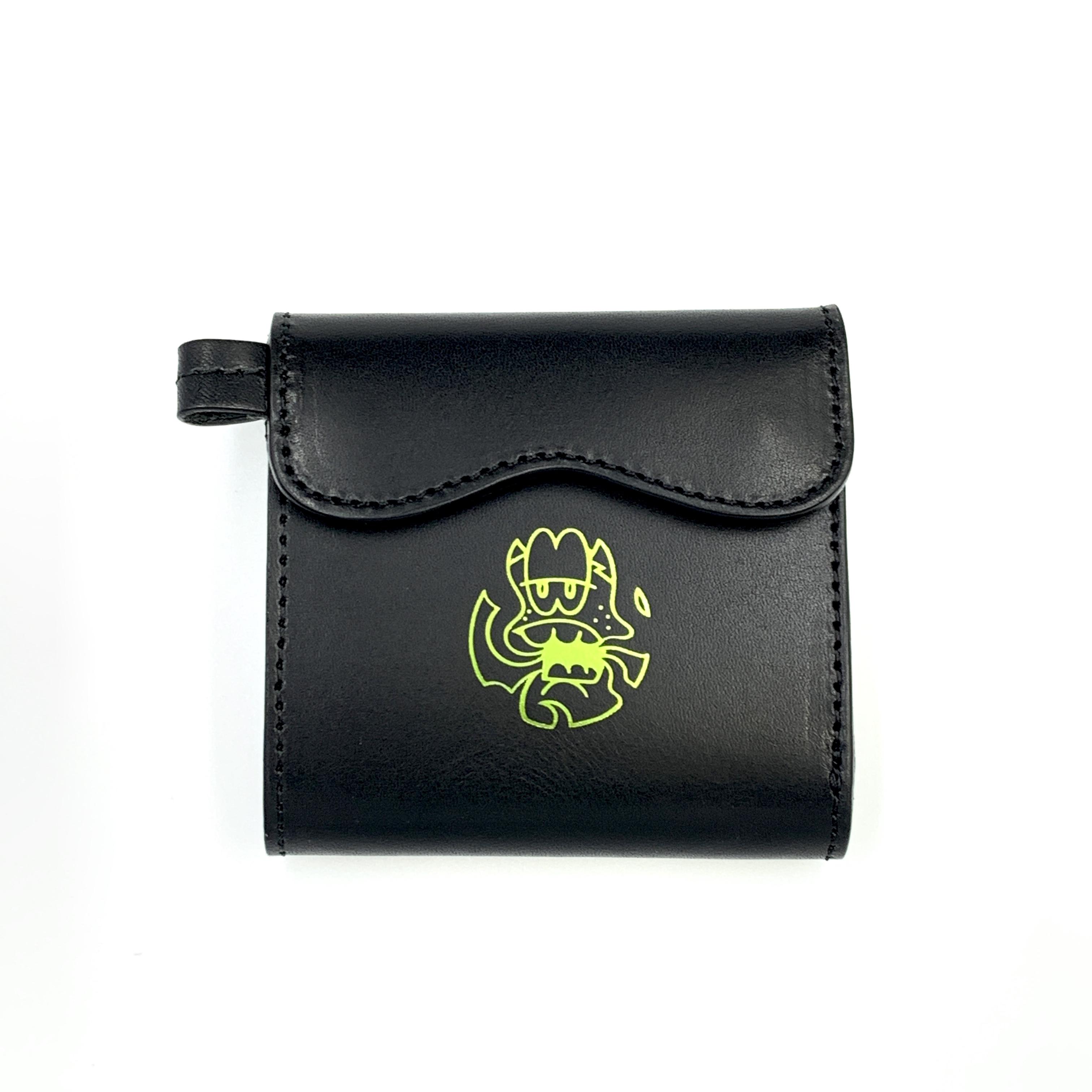 《CASPER× YONZY factory》Mini Wallet Black
