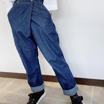 【おとな】驚異のサイズ調節!3yearsデニムパンツ