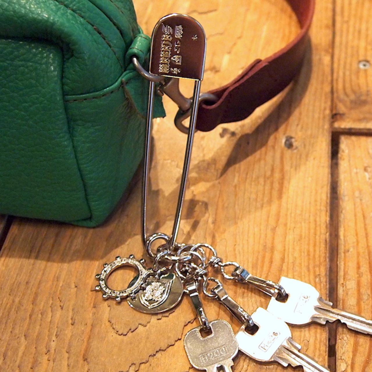 【saranam】anzenpin key chain / 【サラナン】安全ピン キーホルダー