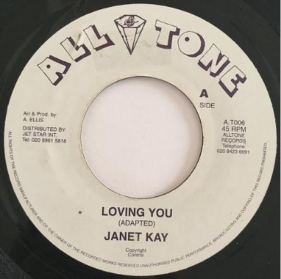 Janet Kay (ジャネットケイ) - Loving You【7'】