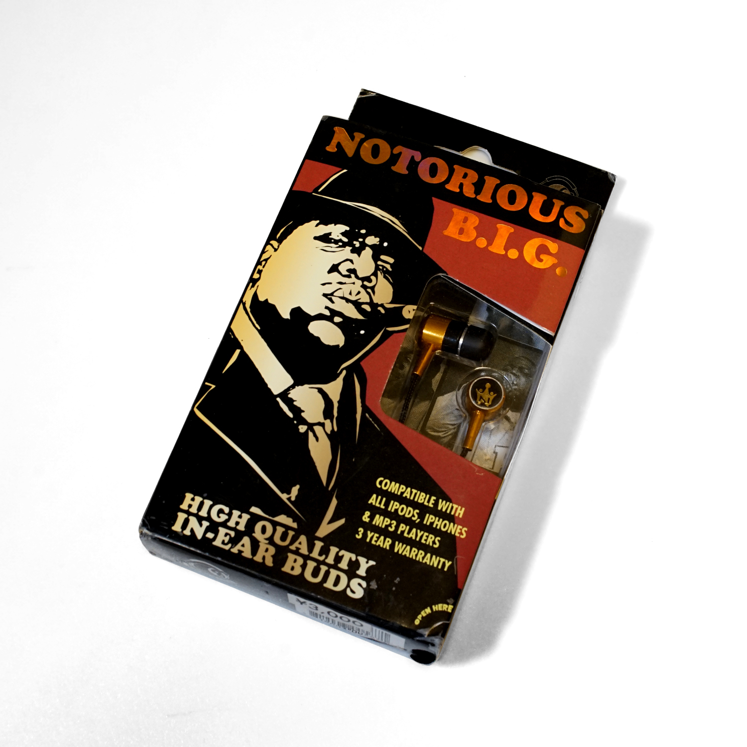 NOTORIOUS B.I.G. Section8 EARPHONE