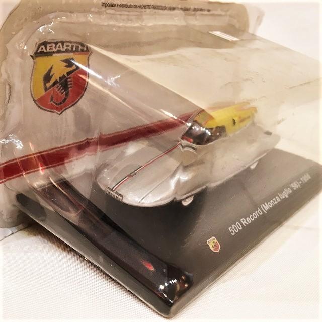 ABARTH 500 RECORD BERTONE (Monza Luglio '56) - 1956  1/43  【HACHETTE】【1個のみ】【税込価格】
