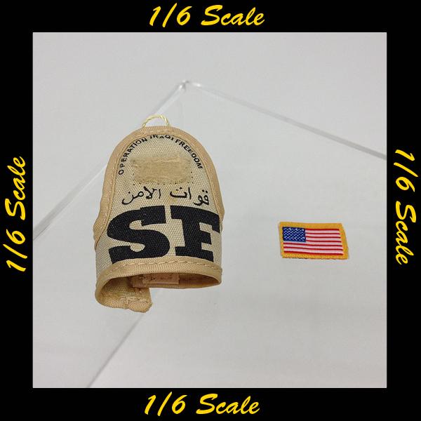 【00823】 1/6 ホットトイズ USAF 腕章