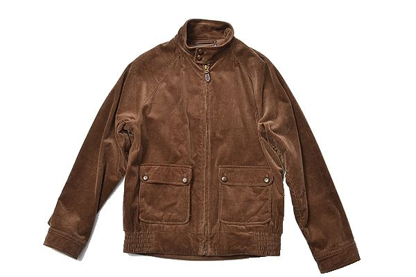 POLO GOLF sizeM couduroy jacket brown