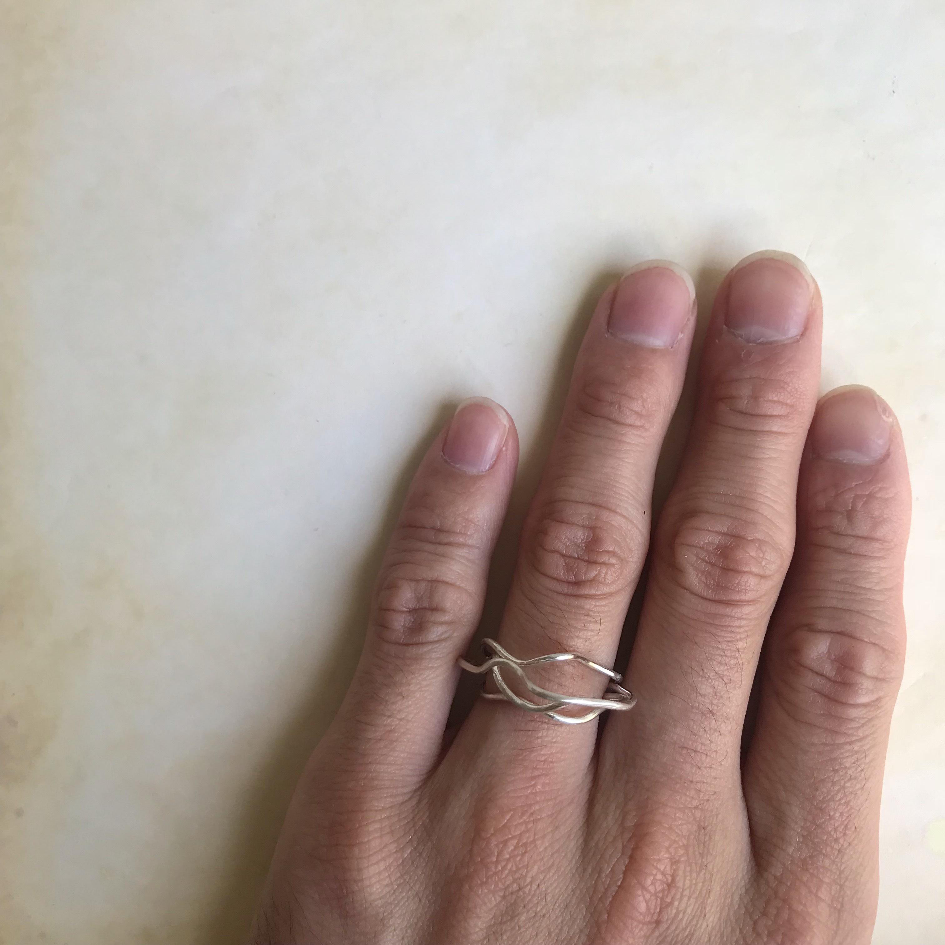 なびくリング(silver)