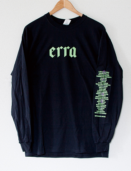 ※Restock【ERRA】2019 Tour Long Sleeve (Black)