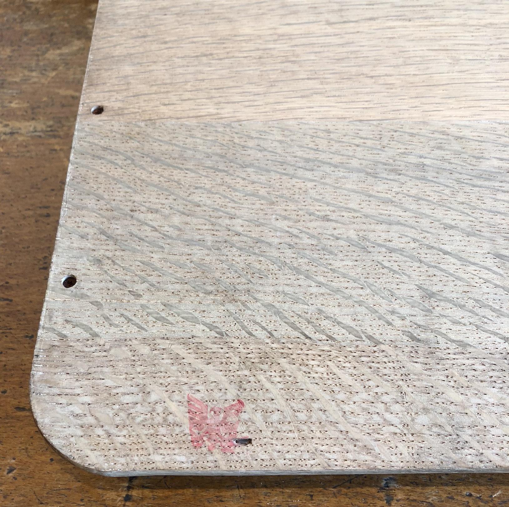 古い木製トレイ A