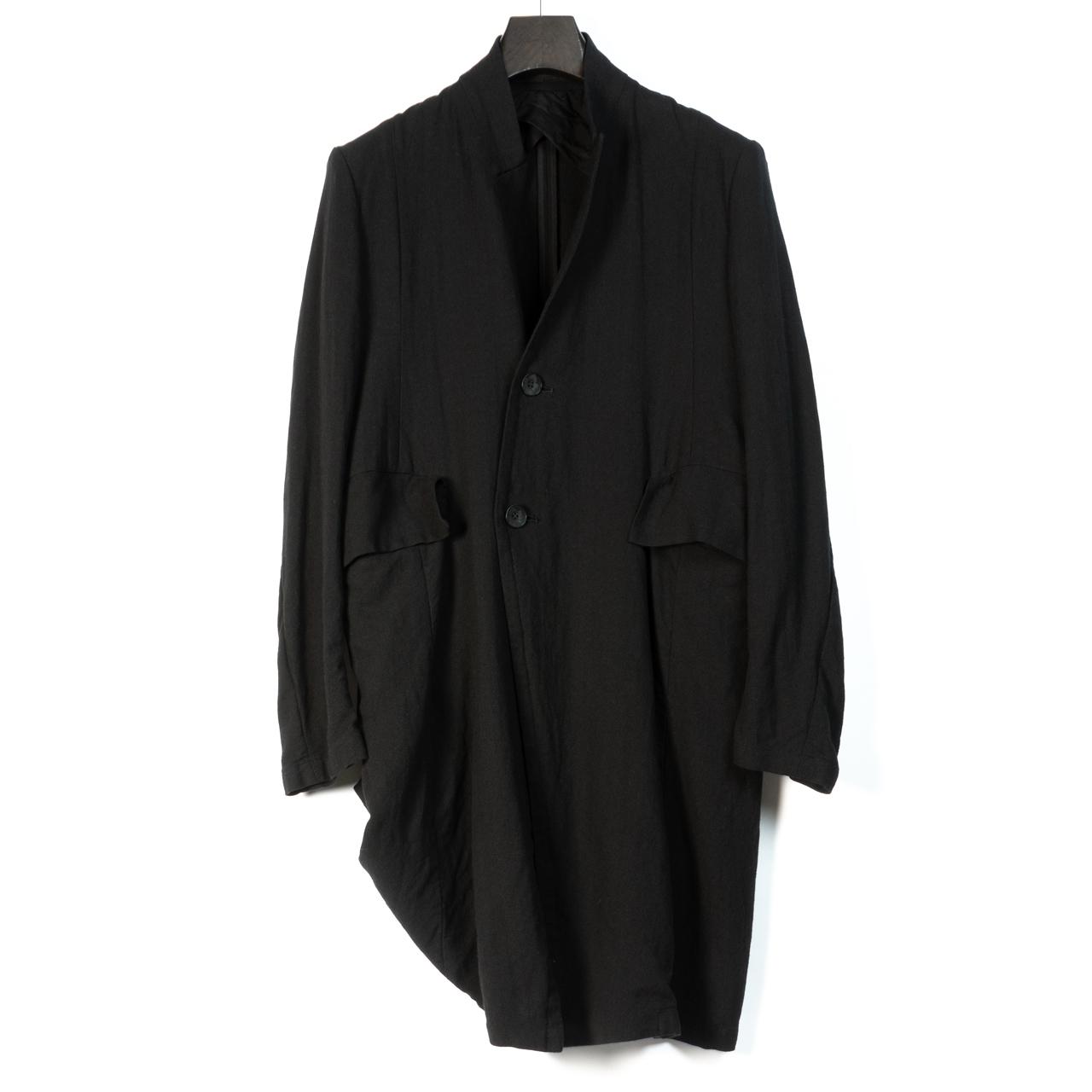 697JAM2-BLACK / スタンドカラーテーラードジャケット