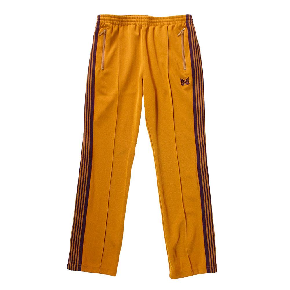 NEEDLES  Narrow Track Pants Mustard
