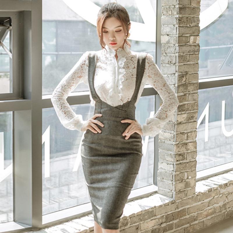 41c567e641e18  美しいボディラインを演出!ハイウエストタイトスカート  90年代 ボディコン 韓国