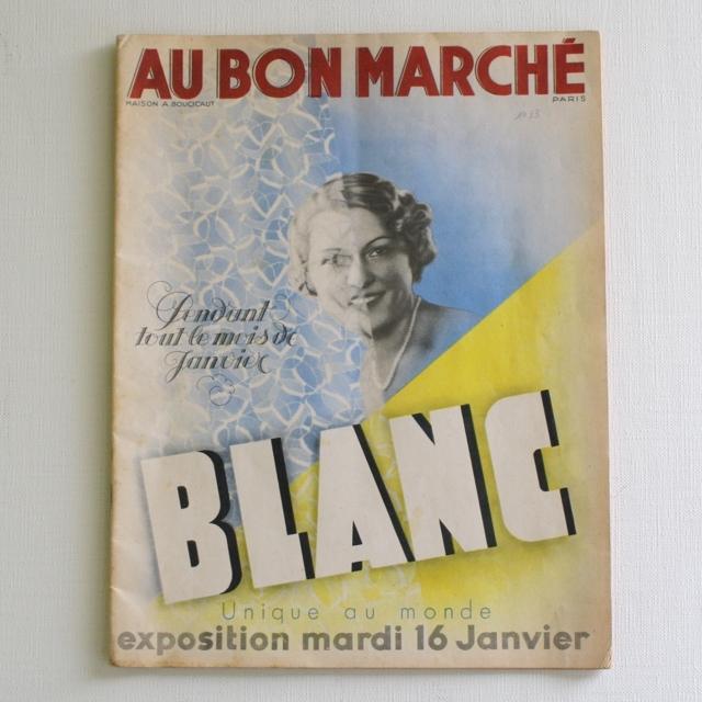 パリの百貨店 Au Bon Marché カタログ・フランスアンティーク / vp0029