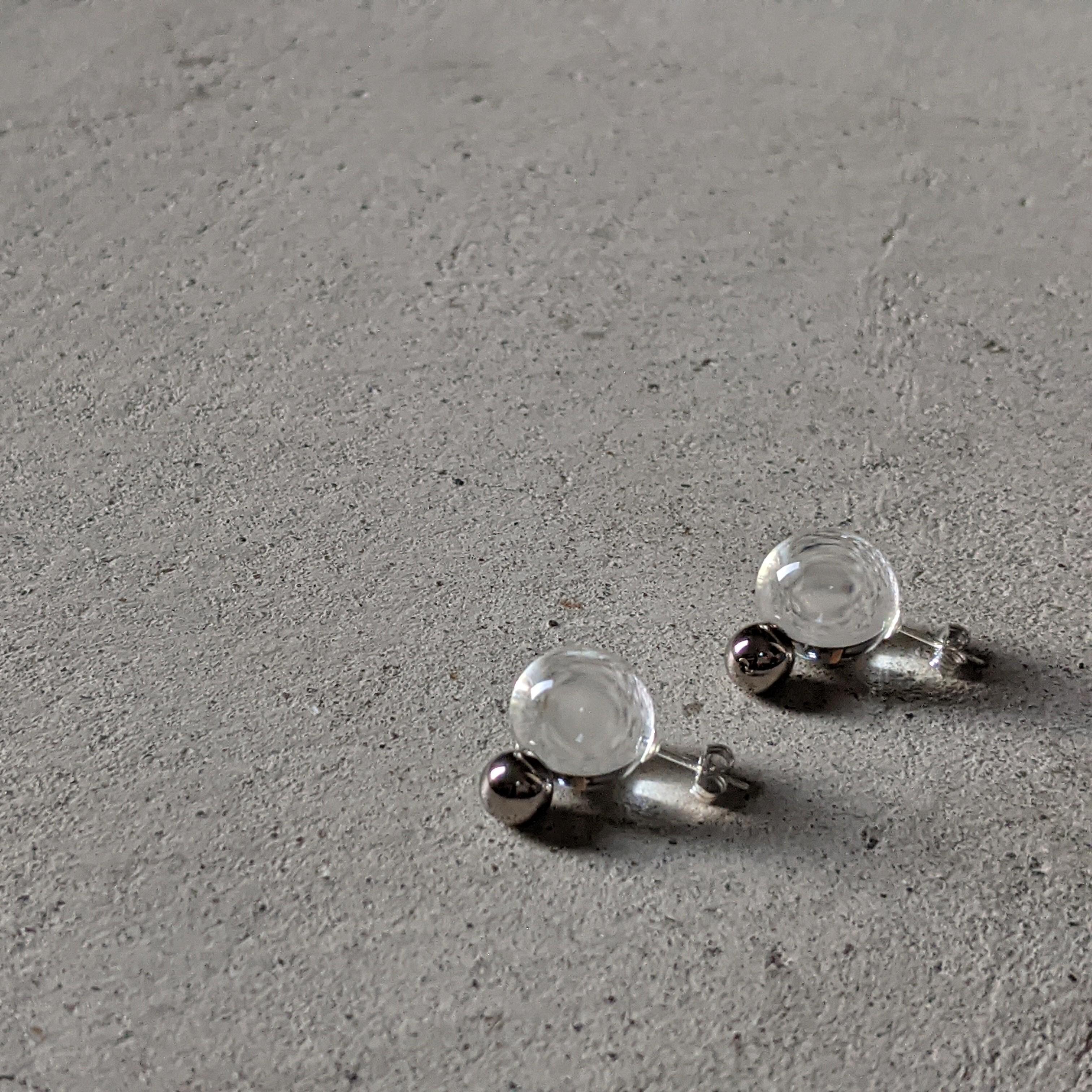 〇。pierce/earring platinum
