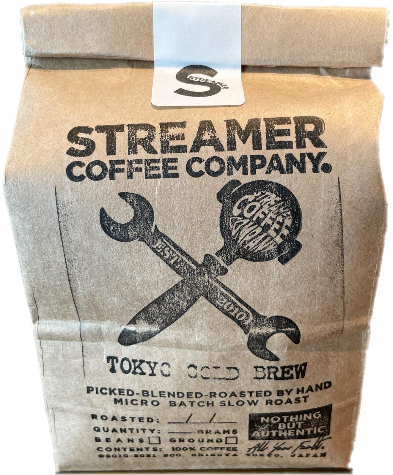 トーキョーコールドブリュー コーヒー TOKYO COLD BREW 100g  豆のまま(エチオピア)