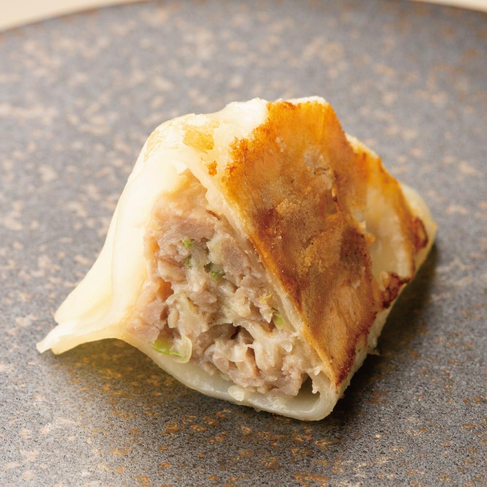 【果皮と餡】ひまわりポークと生姜の餃子