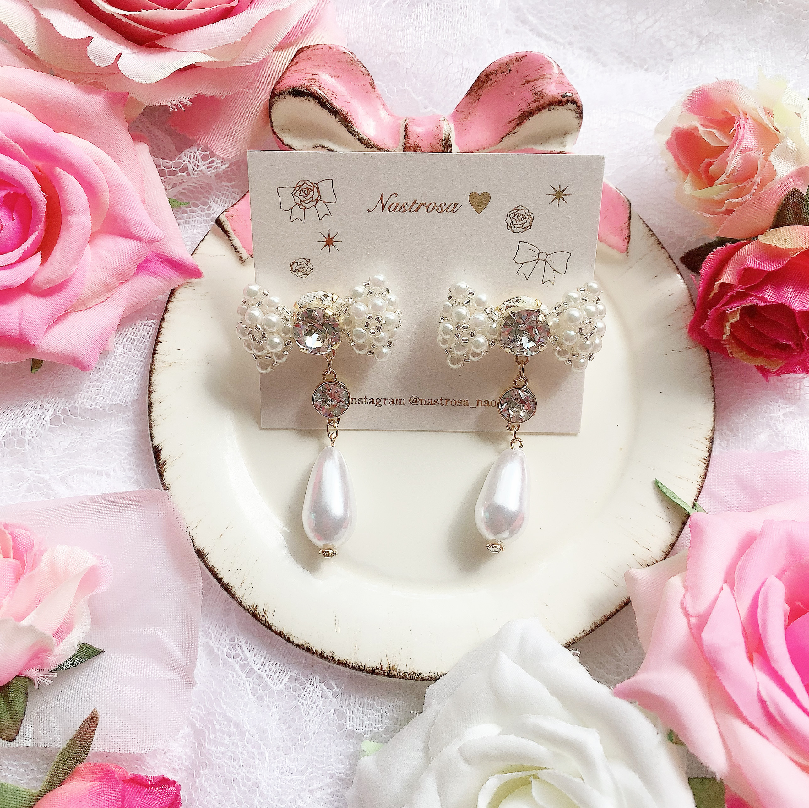 plump ribbon♡twinkle pearl