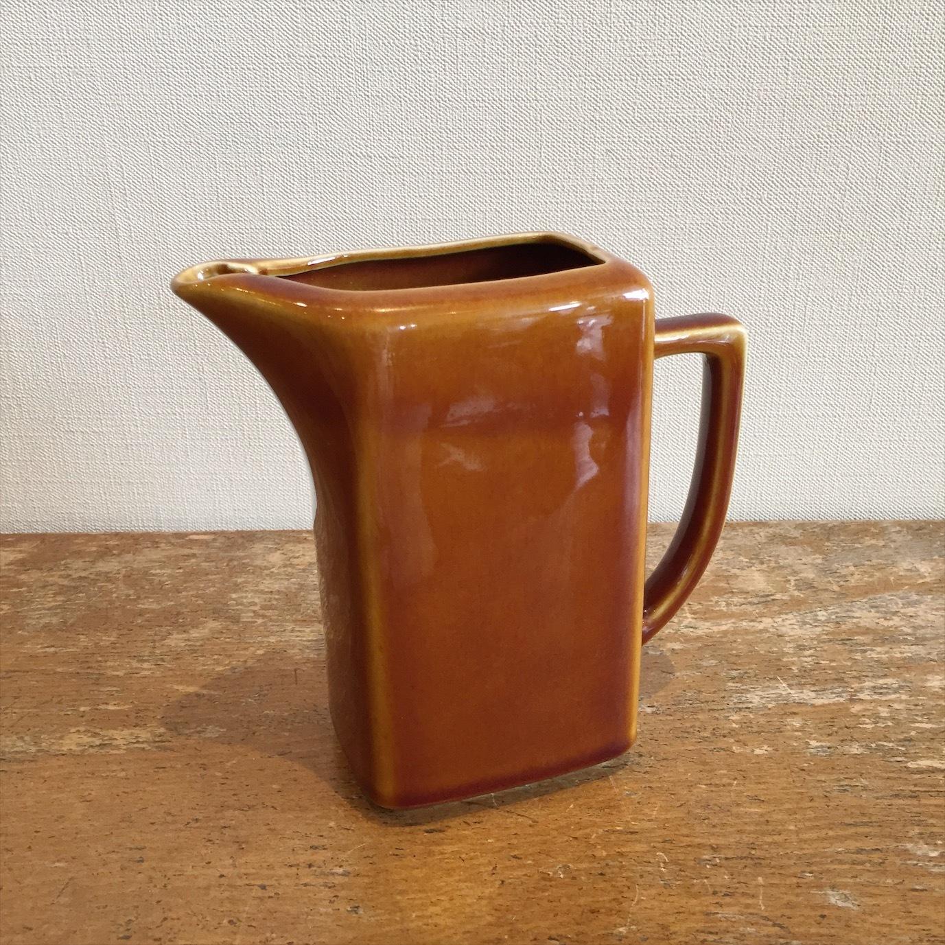 飴色陶器ジャグ
