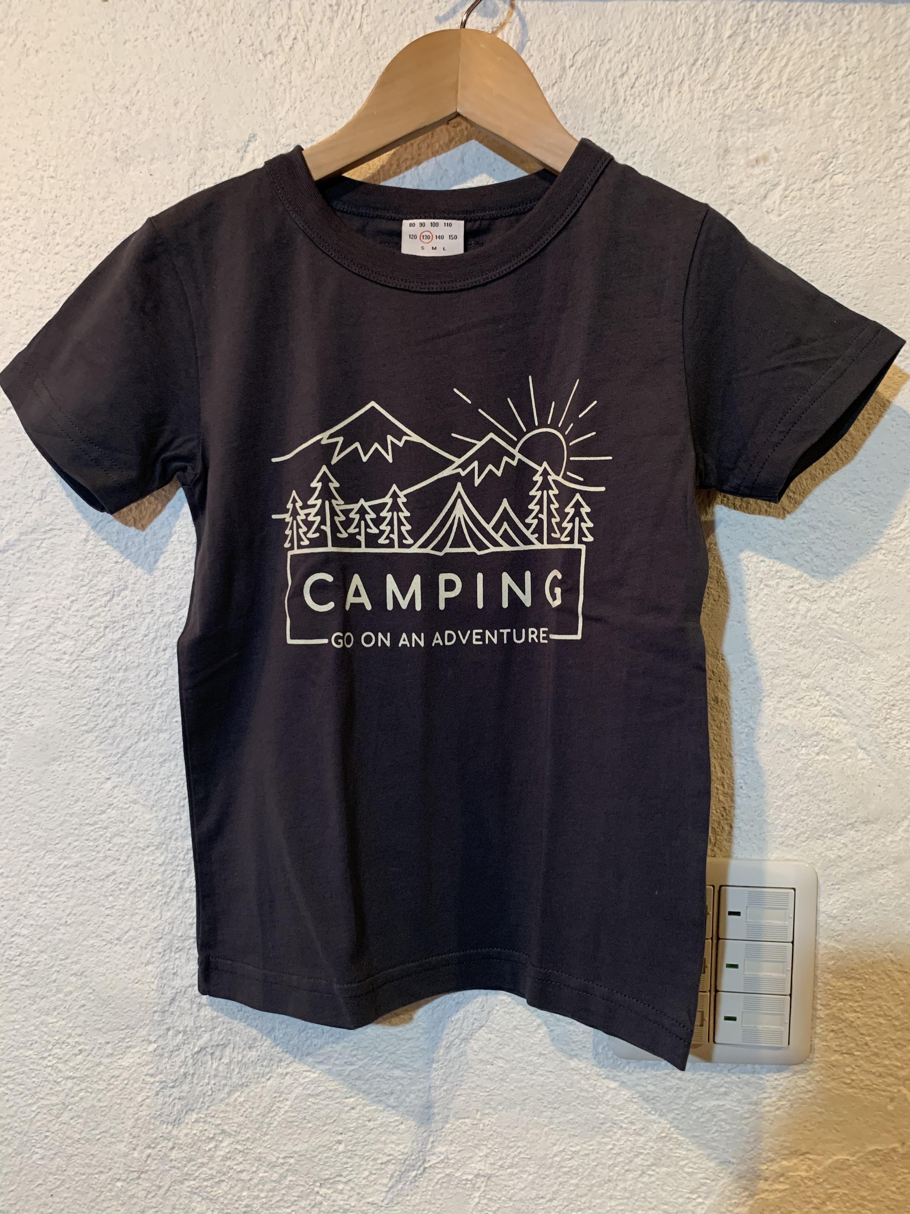 KIDS:OFFICIAL TEAM:キャンピングTシャツ 150,160㎝